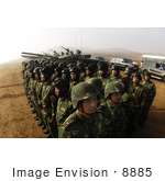 #8885 Picture Of People'S Liberation Army