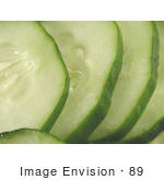 #89 Food Picture Of Cucumber Slices