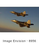 #8956 Picture Of F-22a Raptor Fighter Jets