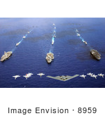 #8959 Picture Of Military Aircraft And Carriers