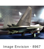 #8967 Picture Of A F-22 Raptor