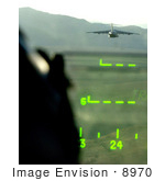 #8970 Picture Of A Pilots View