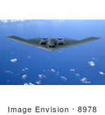 #8978 Picture Of A B-2 Bomber