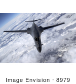 #8979 Picture Of A B-1b Lancer Bomber Jet