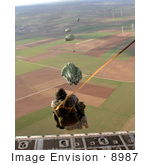 #8987 Picture Of An Airborne Jump Exercise