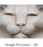 #90 Picture of a Cat Face Sculpture by Kenny Adams