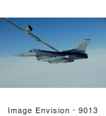 #9013 Picture Of Refueling A Fighter Jet