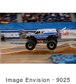 #9025 Picture Of The Monster Truck Afterburner