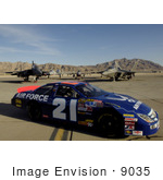 #9035 Picture Of An Airforce Race Car