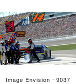 #9037 Picture Of The Air Force Racing Crew