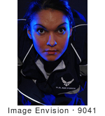 #9041 Picture Of A Woman In Physical Training Uniform