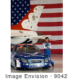 #9042 Photo Of Jon Wood Air Force Race Car Driver