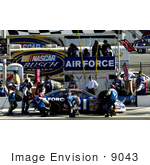#9043 Photo Of The Air Force #21 Car Crew