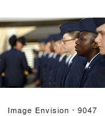 #9047 Picture Of A Military Trainee Crying