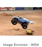 #9054 Picture Of The Air Force Monster Truck