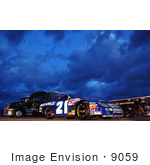 #9059 Picture Of The Air Force Nascar Race Car