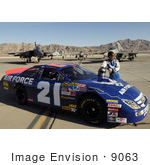#9063 Picture Of Jon Wood Air Force Driver