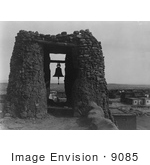 #9085 Picture Of A Belfry At Acoma
