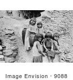 #9088 Picture Of Hopi Indian Children