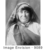 #9089 Picture Of An Acoma Woman