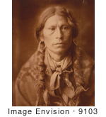 #9103 Picture of a Jicarilla Apache Man by JVPD