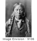 #9106 Picture of a Jicarilla Indian Man by JVPD