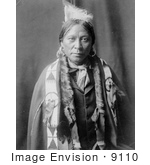 #9110 Picture Of A Native American Jicarilla Man