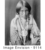 #9114 Picture Of A Jicarilla Indian Girl