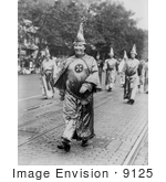 #9125 Picture of a Ku Klux Klan Parade by JVPD