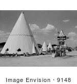 #9148 Picture of a Tipi Hotel by JVPD