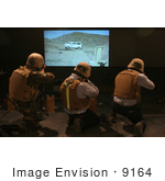 #9164 Picture Of A Simulated Marksmanship Trainer