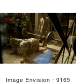 #9165 Picture Of A Soldier Lifting Weights