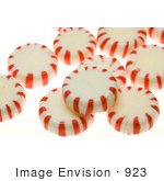 #923 Photo: Peppermint Candies by Jamie Voetsch