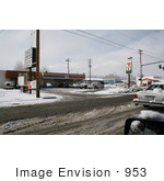 #953 Photography of the Main Street 7-Eleven in Medford, Oregon by Kenny Adams