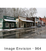 #964 Photography Of Buildings In Historic Jacksonville Oregon