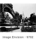 #9702 Picture Of The Gas Pavilion And Eiffel Tower