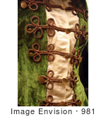 #981 Stock Photograph of an Antique Dress by Jamie Voetsch