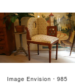 #985 Stock Photograph of an Antique Corner Chair by Jamie Voetsch