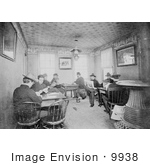 #9938 Picture Of Soldiers Reading And Playing Cards