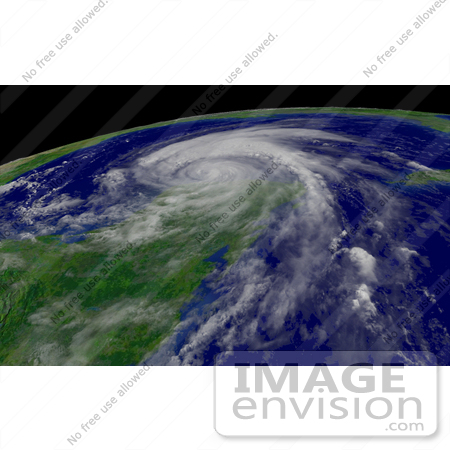 #10039 Picture of Hurricane Emily Nearing the Gulf of Mexico by JVPD