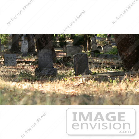 #1035 Photography of the Historic Jacksonville Oregon Cemetery by Kenny Adams