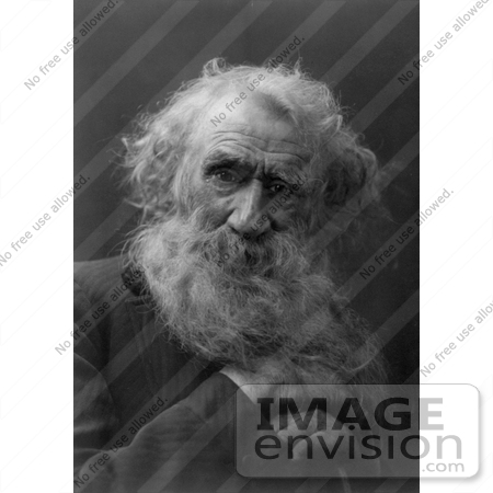 #11036 Picture of an Old Man's Face by JVPD