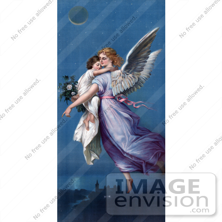 angel flying up to heaven - photo #8