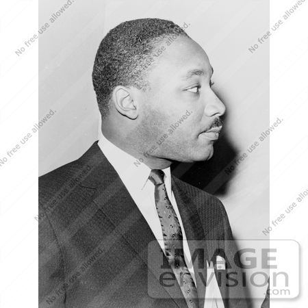 #11323 Picture of MLK in Profile by JVPD