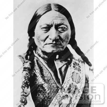 #11343 Picture of Sitting Bull (Slon-he) by JVPD