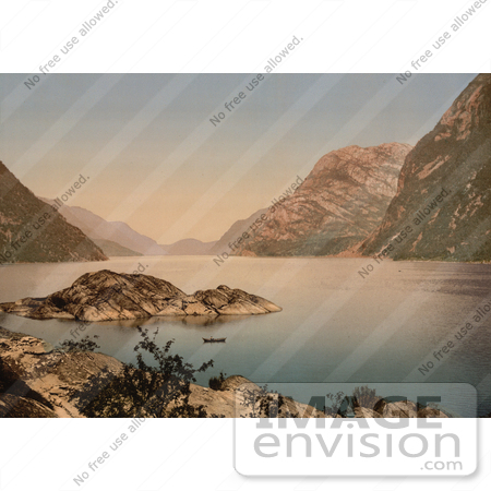 #11480 Picture of Hardanger Fjord, Norway by JVPD