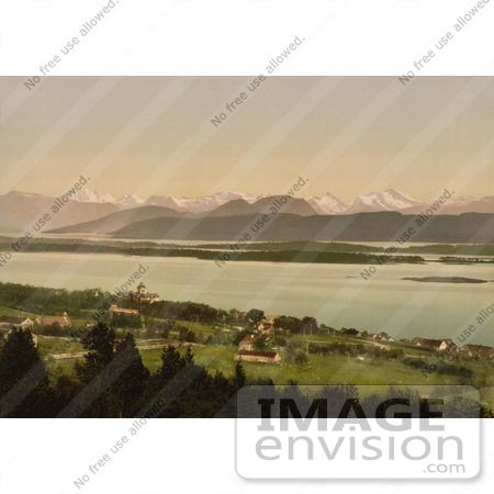 #11536 Picture of Molde, Norway, Mountains in the Background by JVPD