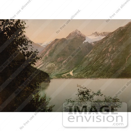 #11560 Picture of Opstryn Lake, Norway by JVPD