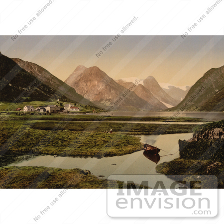#11580 Picture of Mundal, Fjaerland, Sognefjord, Norway by JVPD