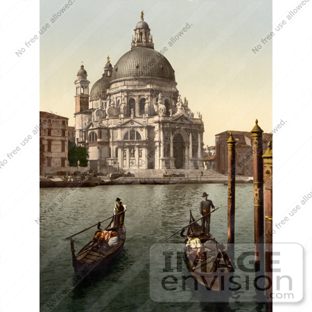 #11695 Picture of a Church of Salute, Venice, Italy by JVPD